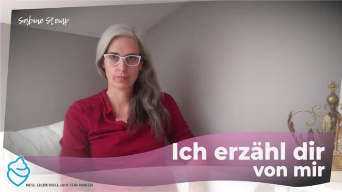 Sabine Stemp erzählt über sich - die Angstexpertin
